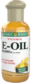 Nature's Bounty Vitamin E-Oil 30,000 IU, 2 oz
