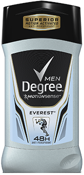 Degree Men Motionsense Invisible Solid, Everest, 2.7 oz