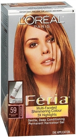 L'Oreal Feria   Hot Toffee 59