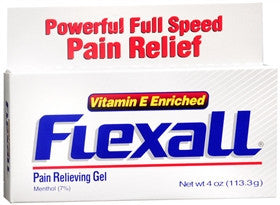 Flexall Maximum Strength Pain Relief Gel, Vitamin E Enriched, 4 oz