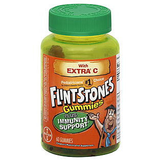 Flintstones Gummies Plus Immunity Support with Extra Vitamin C, 60 ea