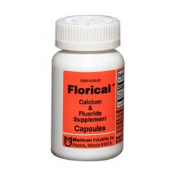 Florical Calcium & Fluoride supplements By Mericon Industries, 100 caps
