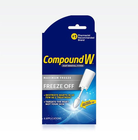 Compound W Freeze Off Wart Removal System, 8 ea