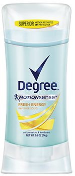 Degree Women Motionsense Anti-Perspirant & Deodorant, Fresh Energy, 2.6 oz