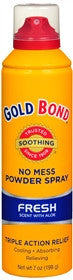 Gold Bond No Mess Powder Spray, Stay Fresh Scent with Aloe, 7 oz