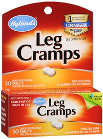 Hylands Leg Cramps,  with Quinine, 50 tablets