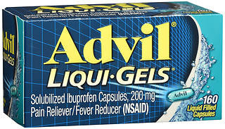Advil Liqui-Gels, 200mg, 160 capsules
