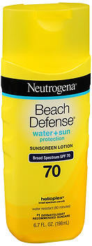Neutrogena Beach Defense Sunscreen Lotion SPF 70, 6.7oz