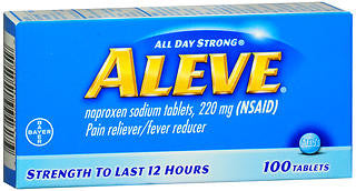 Aleve Tablets, 100 count