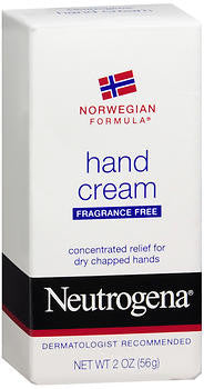 Neutrogena Hand Cream, Fragrance-Free, 2 oz