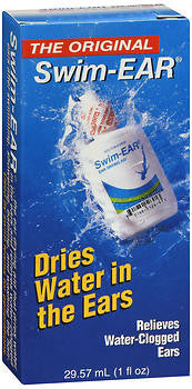 Swim Ear Clears Trapped Ear-Water Drying Aid, 1 oz