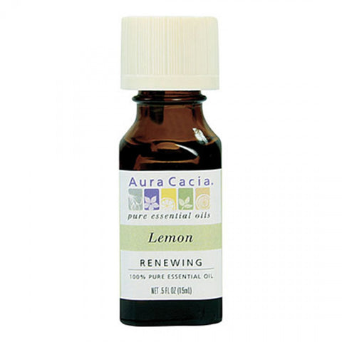 Aura Cacia Lemon Essential Oil, 15ml