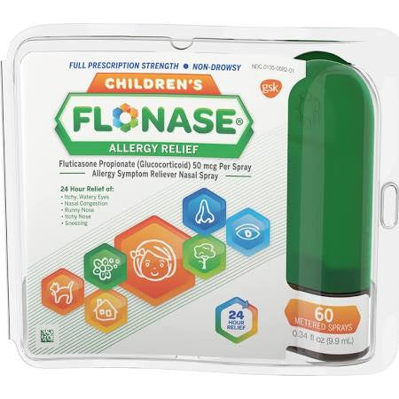 Flonase Nasal Spray Children's - 60 Metered Sprays