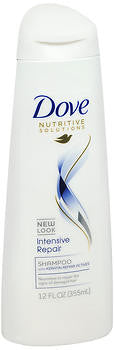 Dove Shampoo, for Hair with More Severe Symptoms of Dryness or Damage, 12 oz
