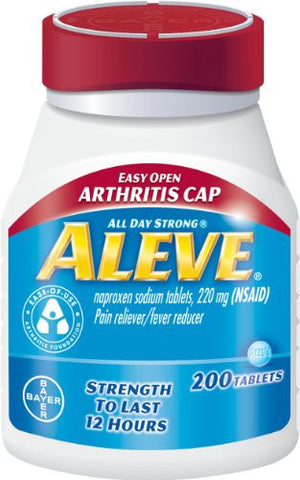 Aleve Arthritis 220mg Easy Cap Tablets 200 ct
