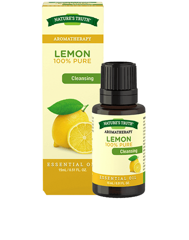 Nature's Truth Aromatherapy 100% Lemon Essential Oil, 15ml