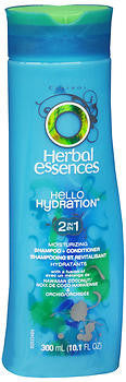 Herbal Essences Hello Hydration 2 in 1 Moisturizing Shampoo & Conditioner, 10 oz
