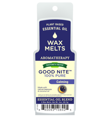 Nature's Truth Aromatherapy Wax Melts, Good Nite, 2oz