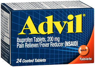Advil Ibuprofen, 200mg, 24 tablets