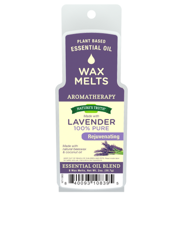 Nature's Truth Aromatherapy Wax Melts, Lavender, 2oz