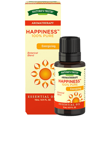 Nature's Truth Aromatherapy 100% Pure Happiness Essential Oil, 15ml