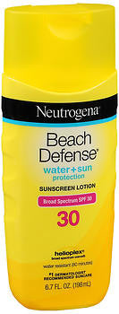 Neutrogena Beach Defense Sunscreen Lotion SPF 30, 6.7oz