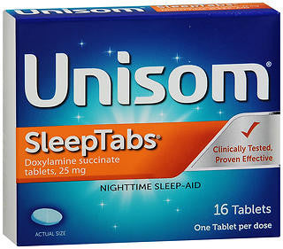 Unisom SleepTabs, 16 tablets