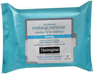 Neutrogena Makeup Remover Cleansing Towlettes, Hydrating, 25 count