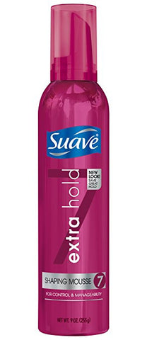 Suave Shaping Mousse, 9 oz