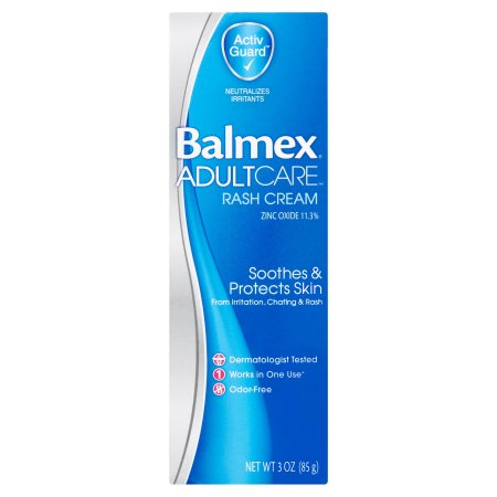 Balmex Adult Care Rash Cream 3 oz