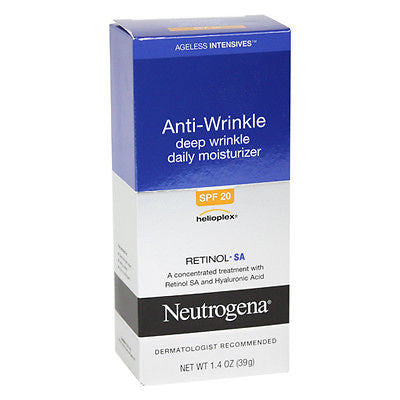 Neutrogena Ageless Intensives Deep Wrinkle Moisture, SPF 20, 1.4 oz