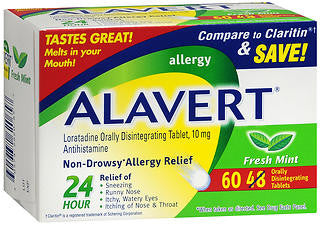 Alavert Orally Disintegrating Tablets, 60 tab