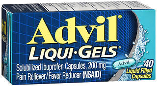 Advil Liqui-Gels, 200mg, 40 count