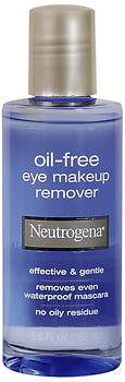 Neutrogena Oil Free Eye Makeup Remover 5.5 oz