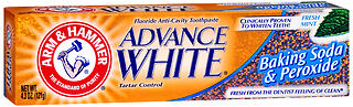 Arm & Hammer Advance White Baking Soda And Peroxide Tartar Control Toothpaste, BKSD PROXDE, 4.3 oz