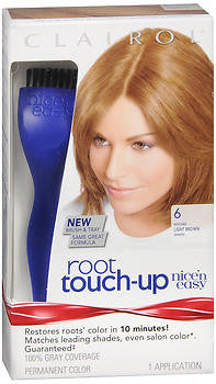Clairol Root Touch-Up  Light Brown 6