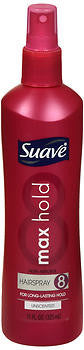 Suave Max Hold Non Aerosol Hairspray, Unscented, 11 oz