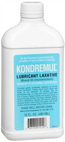 Kondremul Lubricant Laxative, Mineral Oil, 16 oz