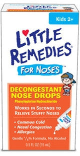 Little Remedies for Noses Decongestant Nose Drops