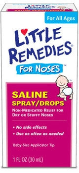 Little Remedies For Noses Saline/Drops