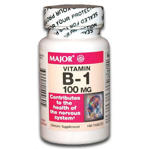 Major Pharm Thiamine,  100 mg- 100 tab