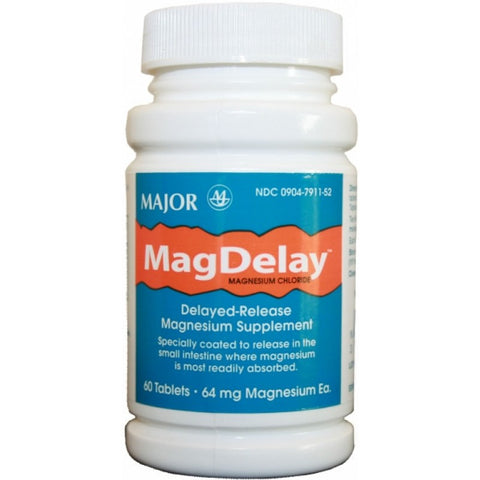 Major Pharm Mag Delay,  Ec, 60 tab