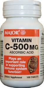 Major Pharm Vitamin C - Ascorb Acid,  500 mg- 100 tab