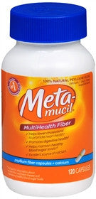 Metamucil MultiHealth FIber + Calcium, 120 caps
