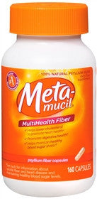Metamucil MultiHealth Fiber, 160 caps