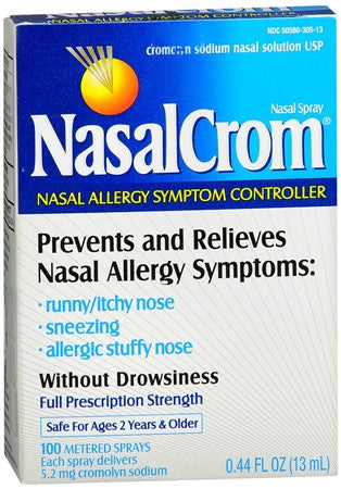 Nasalcrom Nasal Allergy Symptom Controller Spray, 0.44 oz