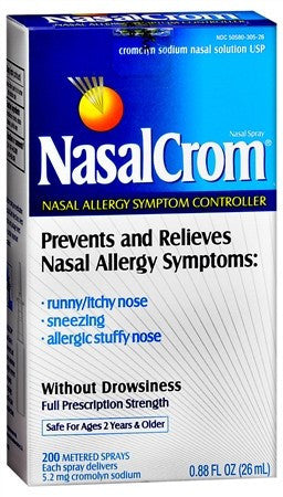 NasalCrom Nasal Allergy Sympton Controller Spray, 0.88 oz