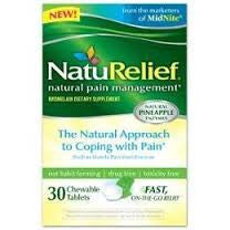NatuRelief Natural Pain Management, 30 tablets