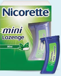 Nicorette 2mg Mini Lozenges,  81 count