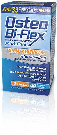 Osteo Bi-Flex Triple Strength with Vitamin D, 120 caplets
